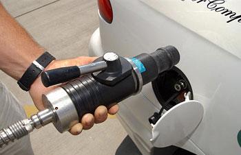Rifornimento di un veicolo ad idrogeno